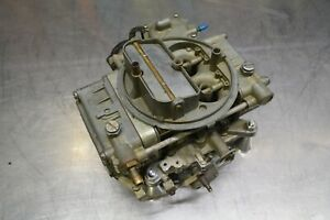 1963 Ford 427 Fe Holley C3ae 9510 C 2652 Carburetor R Code Galaxie Mercury 406