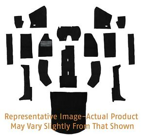 Early 1957 Volkswagen Beetle Convertible Black Carpet Set 14 Piece 313308