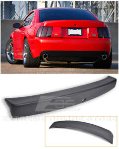For 99 04 Ford Mustang Cbr Style Rear Trunk Wing Spoiler Opening For Key Hole