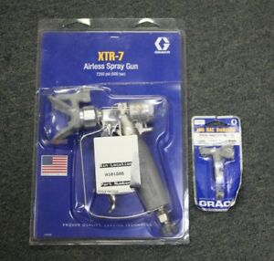 Graco Heavy Duty Xtr 7 Airless Spray Gun W graco Xhd519 Switchtip free Shipping