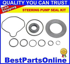 Power Steering Pump Seal Kit For Saab 9 3 2003 2011 Ref 12807425 12801788