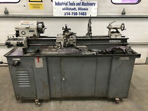 Rockwell 10 x36 25 700 Metal Lathe Gunsmith 3 4 Jaw 110v Follow Steady Rest