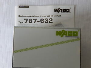 Wago Switched Mode Power Supply P n 787 632 Output 24dvc 10a 240w New