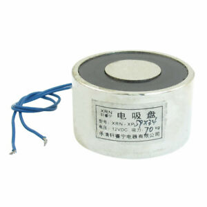 Lift Holding Electric Lifting Magnet Electromagnet 12vdc 70kg 154lb 59mm X 34mm