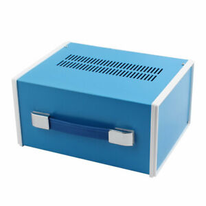 270 X 210 X 140mm Rectangle Project Enclosure Case Electric Junction Box Blue