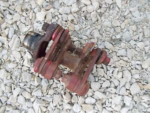 Mccormick Farmall F14 F12 Tractor Ih Main Drive Shaft Coupler Cupler Connector B