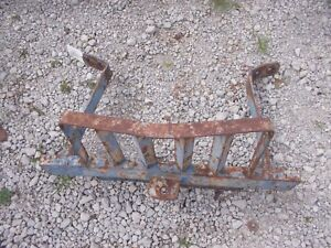 Ford 2000 3000 Tractor Front Grille Grill Guard W Push Hitch
