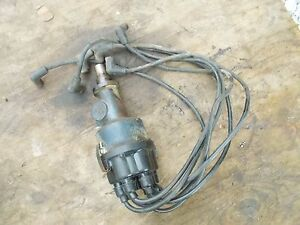 Farmall Ihc 460 560 Tractor Engine Motor Distributor Drive W Wires More Power