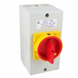 Rotary Cam Ue 690v Ith 63a On off Changeover Switch