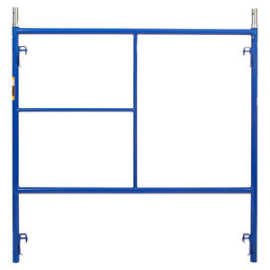 5 X 5 Section Of Blue Heavy Duty Scaffold Quality Steel Mason Frames