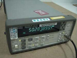 Hp Agilent 53181a Frequency Counter 225mhz 10 Digit