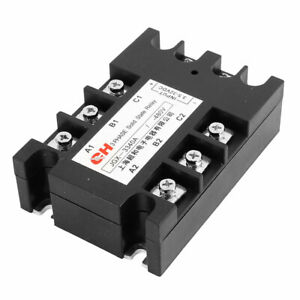 Jgx 33 40a Dc To Dc Dd 3 5 32v Dc To 480v Dc Three 3 Phase Solid State Relay