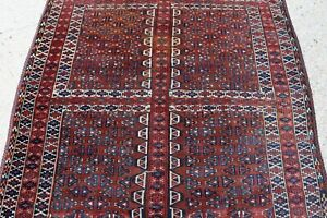 Antique Yomud Turkoman Rug