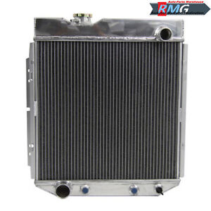 2row Aluminum Radiator For 1964 1966 Ford Mustang 5 0l V8 Engine 1965