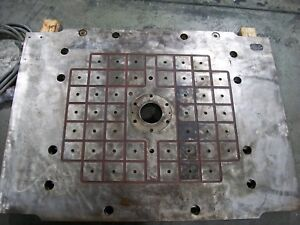 Tecnomagnete Magnetic Mold Clamp Plates 700 To 800 Ton Plastic Injection Molder