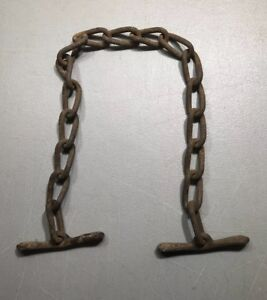 Vintage Cow Chains Old Farm Tool Hang Lamps Shelves Antique Free Shipping Usa