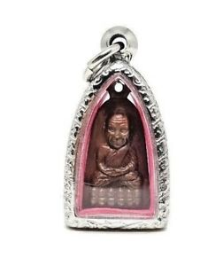Lp Tuad Thao Wessuwan Luck Rich Wealth Protection Thai Buddha Amulet Pendant