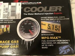 Snow Performance 201 Stage 1 Water Methanol Injection Kit Boost Cooler Kit New