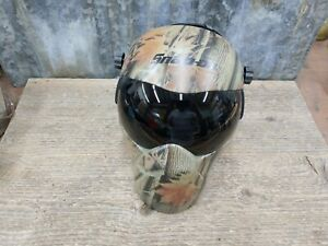 Snap on camo Extreme Face Protector Welding Grinding Helmet With Extra Lens