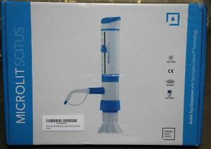 Microlit Bottletop Dispenser pump Choose Your Volume Capacity