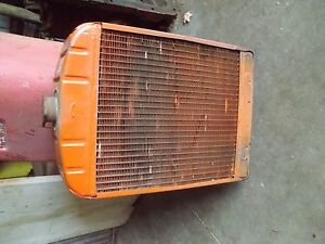 Case Vac 14 Tractor Good Working Engine Motor Radiator Assembly Fan Shroud