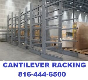 Steeltree Single Sided Cantilever Rack Racking Lumber Piping Racks New