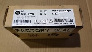 New Factory Sealed Allen bradley Micrologix 1762 ow16 Plc Output Module