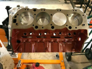 496 Big Block Chevy Short Block For Blower Supercharger Up To 1000 Hp