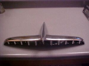 1953 Hudson Hood Ornament Emblem Mascot Hot Rod