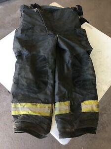 Veridian Firefighter Turnout Bunker Pants Size 44x30 With Suspenders