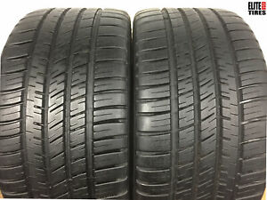 2 Michelin Pilot Sport A s 3 P255 35zr18 255 35 18 Tire 8 0 8 25 32