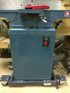 6 Wood Jointer planer Geetech Ct 150 Cast Iron Enclosed Single Phase Mobile