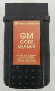 Vintage Equus 3008 Gm Code Reader For Gm 1982 1995 Excluding Cadillac