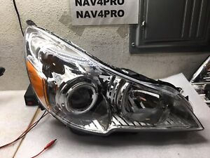 2010 2011 2012 Subaru Legacy Outback Right Projector Halogen Headlight a685