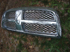 Ch1200326 Grille 2009 2010 2011 2012 Dodge Ram 1500 Chrome Insert