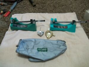 2 RCBS RELOADING SCALES 502 AND 505 wcover