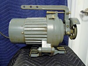 Consolidated Sewing Machine Corp Clutch Motor 1 2 Hp Model Ps 6