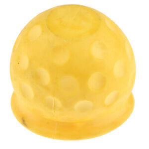 Tow Ball Towing Protective Cover For Car Truck Trailer Yellow