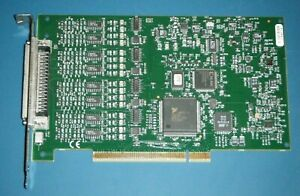 Ni Pci 4351 16ch 24bit Temperature voltage Logger National Instruments tested