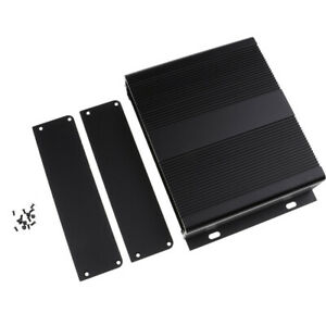 Extruded Aluminum Enclosure Kit For Project Amp Controller Case 204x48x150mm