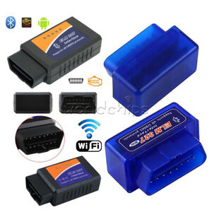 Elm327 Wifi Bluetooth Obdii Obd2 Car Diagnostic Scanner Interface Reader Tool