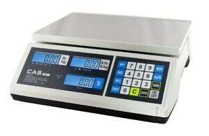 Cas Er Jr 30lb Dual Range Price Computing Scale