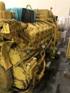 Caterpillar G3516 800kw Continuous Natural Gas Generator Sets 2 Available