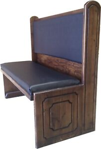 Ozark Beef Eater Restaurant Booth Single 5600s 60 36 Pad Seat Pad Back