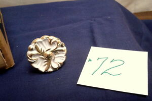 Amerock French Provincial Drawer Pull Knob Ivory Gold Fancy Ornate