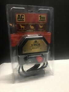 American Farm Works 5 Mile Ac Low Impedance Electric Fence Controller New