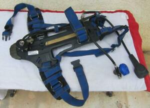 8 Drager Scba Harness Airboss Evolution Backpack 3337850 Plus 1 Parts Harness