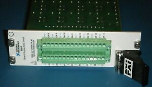 Ni Pxi 2565 16 channel High Power Relay Switch Module National Instruments
