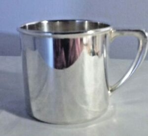 Vintage Silver Plate Baby Cup By Community 00300