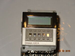 Omron Industrial Automation H3ca a Solid State Timer With Socket 6x156e
